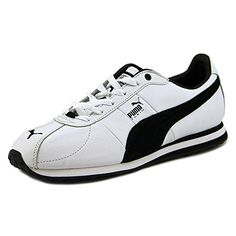 Puma Turin L Herren US 8.5 Weiß Turnschuhe