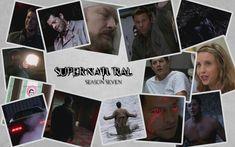 Supernatural Season 7 Supernatural Season 7, Winchester, Fangirl, Seasons, Baseball Cards, Movie Posters, Life, Art, Collage