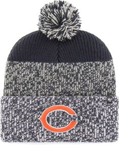 47 Men s Chicago Static Cuffed Charcoal Knit 9289027a6