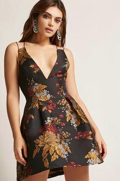Floral Print Cami Skater Dress | Forever21