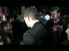 David Foster & Michael Bublé Take Care of Fans at Mr. Chow - Academy Awards Party 2/22/2009