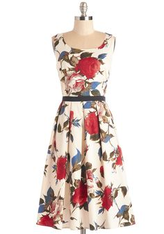 Greenhouse Grandeur Dress, @ModCloth
