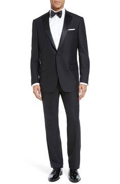 652aafc5d59 eBay #Sponsored HART SCHAFFNER $795 NEW Mens 2690 Classic Fit Wool Tuxedo  2PC Suit 38S · Jakke