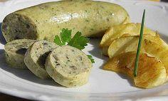 White Pork Sausage (Boudin Blanc de Liège)