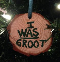 """Ingenious ornament for a Guardians of the Galaxy fan which also has my nomination for the """"GEEKY-EST"""" ornament of the year AWARD!  via @WhyILoveXMAS"""