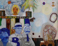 HOSTESS, Revaz Kvaratskheliya Sukhumi, The Black Sea region, georgia; son of the artist Alexei Kvaratskheliya) Black Sea, Georgia, Artist, Painting, Artists, Painting Art, Paintings, Painted Canvas, Drawings