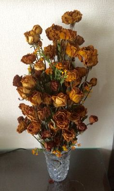 My dried rose