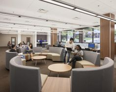 Nice Seating  School Library Renovation | Morehouse School Of Medicine  Completes Projects Aimed At