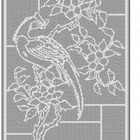 Bird Floral Curtain Tablecloth Filet Crochet Pattern Item 901