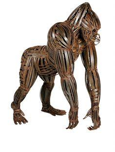 Intricate Wrought Iron Sculptures by Fernando Suárez Reguera http://designwrld.com/intricate-wrought-iron-sculptures-by-fernando-suarez-reguera/