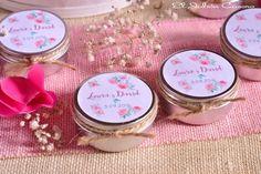 Detalles para bodas, velas  aromáticas personalizadas.  Detalles de boda hechos a mano. Consultas y encargos: eljaboncasero@gmail.com