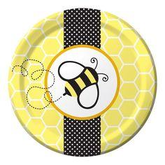 Buzz BaBEE  Baby Shower Dessert Plates