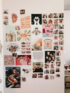 34 New ideas for wall collage art dorm room