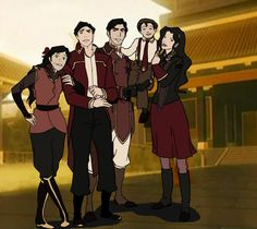 Iroh & Asami's Family Photo