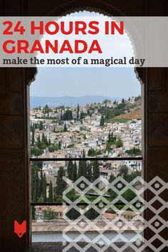 Only have 24 hours in Granada? This travel guide will help you make the most of your time. You'll discover the stunning architecture of beautiful places throughout the city, eat your fill of tapas, and even watch the sun set over one of the world's most prized heritage sites (yes, we're talking about the Alhambra!). #Granada #traveltips Spanish Culture, Like A Local, Seville, Spain Travel, Heritage Site, Granada, Valencia, Tapas, Travel Guide