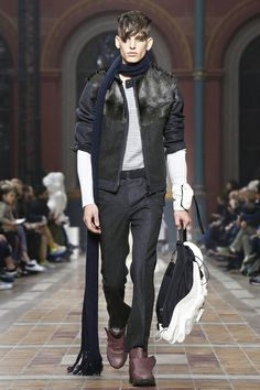 Lanvin Menswear Fall Winter 2014 Paris - NOWFASHION