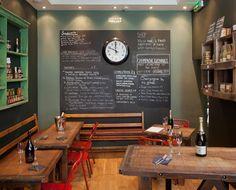 Champagne & Fromage Bistro in Covent Garden Champagne, Bistro Kitchen, Covent Garden, Projects To Try, Interior, Nom Nom, Restaurants, Rocks, Cheese