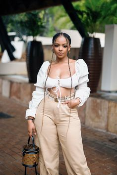 Style Outfits, Cute Casual Outfits, Summer Outfits, Girl Outfits, Fashion Outfits, Black Women Fashion, Look Fashion, Looks Plus Size, Looks Street Style