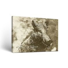 Victory Tailgate NCAA Wake Forest Demon Deacons Sketch Design Wall Art on Wrapped Canvas