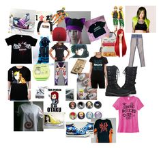 """""""Anime"""" by suzinjersey ❤ liked on Polyvore"""