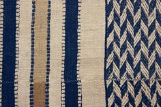 Detail: Display cloth/hanging, Mende or Vai peoples, Sierra Leone, early C20th. William Itter Collection, USA.