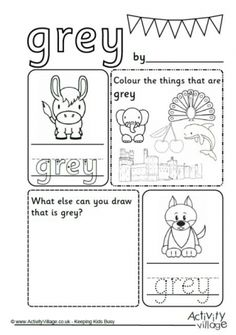 Recognize the Color Pink Colors Worksheet for Kids