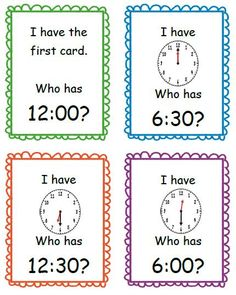 Teaching Little Miracles: Week 2 Weigh-In Day and Time to the Half-Hour. Primary Maths, Primary Teaching, Teaching Time, Student Teaching, Teaching Ideas, Math Resources, Math Activities, Fun Math, Telling Time Activities