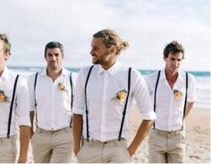 wedding groom attire Super Wedding Suits Men Cream Groom Attire Ideas Best Picture For classy Country Outfit For Your Taste You are looking for something, and it is going to tell you exactly wh Groomsmen Suspenders, Groomsmen Outfits, Groom Outfit, Groom And Groomsmen, Groomsman Attire, Groomsmen Beach Attire, Vintage Groomsmen Attire, Wedding Suspenders, Groomsmen