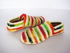 Teen Girl Slippers, Boho Slippers, Crochet Wool Slippers, Gift for girlfriend, Valentine's gift, Girl Home Shoes, Woman Slippers, Wife gift by BoryanacrochetBG on Etsy