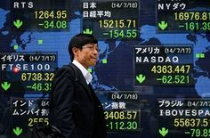 Stocks in Asia weaken on Tokyo policy moves