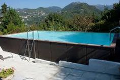 LAGHETTO REMOVABLE POOL images - Google Search Pool Images, Above Ground Swimming Pools, Images Google, Google Search, Outdoor Decor, Home Decor, Decoration Home, Ground Pools, Room Decor