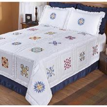 Traditional Quilt Full/Queen Bed Quilt Top