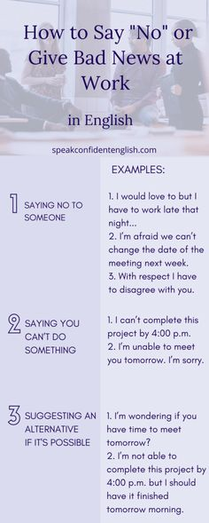 Professional English. No one likes to give bad news. But there are some helpful ways to do it politely in English. Try these strategies next time and get more essential tips at https://www.speakconfidentenglish.com/kind_polite_english/?utm_campaign=coschedule&utm_source=pinterest&utm_medium=Speak%20Confident%20English%20%7C%20English%20Fluency%20Trainer&utm_content=How%20to%20Be%20Kind%20and%20Polite%20in%20English%20at%20Work…