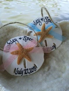 46 Beach Wedding Favors That You'll Love | HappyWedd.com