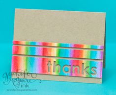 New Distress Markers are so cool. Love this Video & Chart: New Distress Markers from Jennifer McGuire #cards