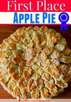Blue Ribbon Kitchen: Cranberry Apple Pie   A Three-Time, First-Place ...