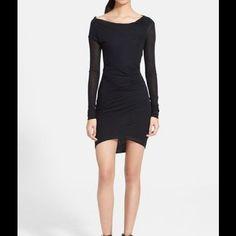 Helmut Lang Thicket Slack Jersey Dress L