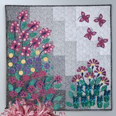 Shimmering Garden (from Quilt Trends Magazine)