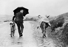 Thomas Hoepker - Two boys in rural Portugal, 1964