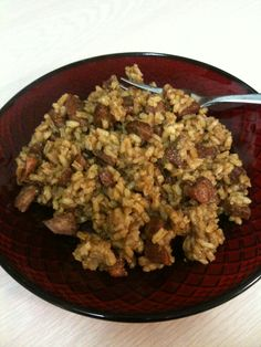 Ray's Southern Smoked Pork/Venison Sausage Jambalaya! Venison Sausage Recipes, Sausage Jambalaya, Creole Cooking, Wild Game Recipes, Dutch Oven Cooking, Smoked Pork, Lamb, Nom Nom, Food Porn