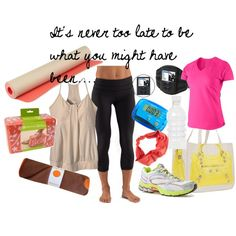 bylaurac.polyvore.com    Gym  Yoga  Workout   Health  Run