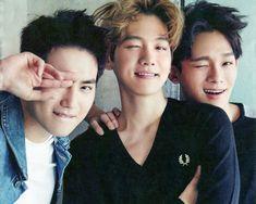 ♥ Suho & Baekhyun & Chen | Exo
