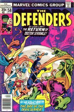Defenders # 58 by Ed Hannigan & Klaus Janson