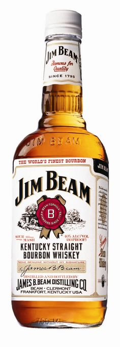 Jim Beam (White Label). Everybody knows this one. 95% of all bourbon is…