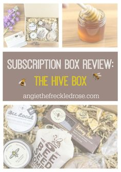 Subscription Box Review: The Hive Box | s I was digging in the dirt outside in the garden, I noticed all the honeybees flying around my August blooms.  Without these winged wonders, our gardens certainly wouldn't be as beautiful and bountiful as they are right now.  They fly around, pollinating and working hard for us nature lovers all day long.  I'm always looking for ways to support the pollinators, so I was thrilled when I was contacted by The Hive Box!  #DIDI @thefreckledrose