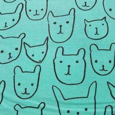 Cotton & Steel - Print Shop - Animal Faces