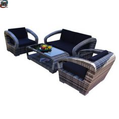 Poly Rotting Sofa Sett I Eksklusivt Design