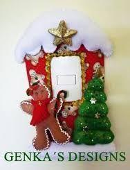 Resultado de imagen para moldes de cubre apagadores navideños