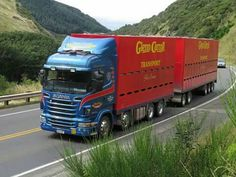 Road Train, Swedish Brands, Big Rig Trucks, Buses, Rigs, Volvo, Trailers, New Zealand, Motorcycles