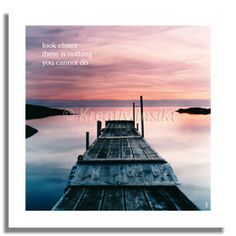 Text on card: Look closer, there is nothing you cannot do. With love from (c) Kreativ Insikt.